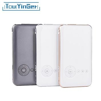 5000 mah Touyinger Everycom S6 plus Mini pocket projector dlp wifi portable Handheld smartphone Projector Android AC3 Bluetooth