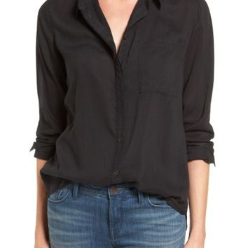 Treasure & Bond Drapey Classic Shirt | Nordstrom