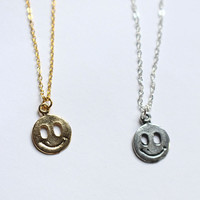 90's Smiley Grunge Necklace