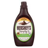 Hershey Chocolate Syrup - Simply 5 - Case Of 12 - 21.8 Oz