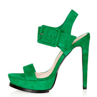 LIMBO Buckle Platform Sandals - Heels - Shoes - Topshop USA