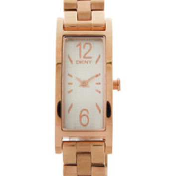 NY2429 Pelham Rose Gold-Tone Stainless Steel Bracelet Watch by DKNY (Women)