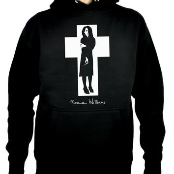 Rozz Williams Pullover Hoodie Sweatshirt Christian Death Gothic Punk Deathrock