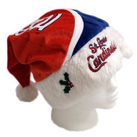 St. Louis Cardinals Santa Hat - Color Block 2010