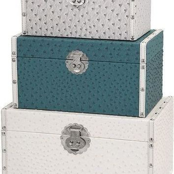Claire Trunks - Set of 3