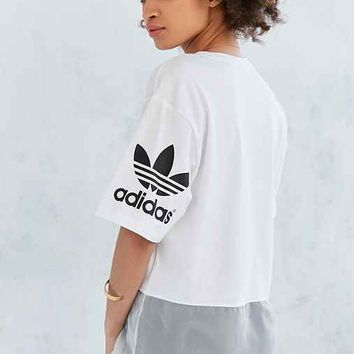 adidas Originals Basketball Mesh Tunic Tee