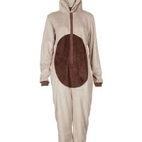 Reindeer Novelty Fluffy Onesuit