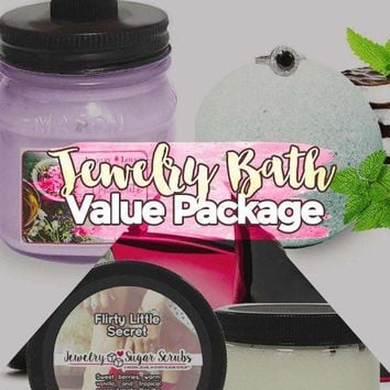 Create Your Own Jewelry Bath & Body Value Bundle