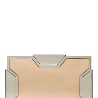 Lee Savage Silver And Rose Gold Small Space Clutch