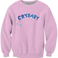 Melanie Martinez Sweatshirt Pink Crewneck Women/Men Crybaby Blue Letter Hoodies Fashion Clothing Jersey Outfits