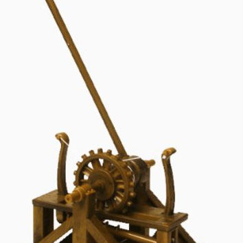 Catapult - Leonardo Da Vinci Kit # EDU-61009