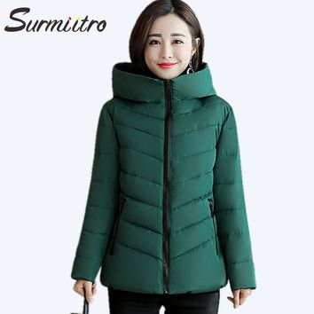 Gogoyouth Plus Size Puffer Jacket For Women Winter New Warm Parka Female Coat With A Hood Big Large Ladies Outwear