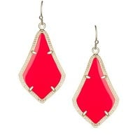 Alex Earrings in Bright Red - Kendra Scott Jewelry