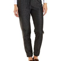 Faux Leather Trim Jogger Pants by Charlotte Russe