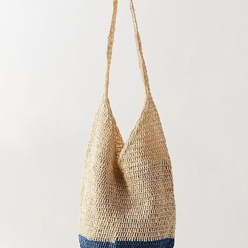 Slouchy Straw Tote Bag | Urban Outfitters