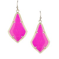 Alex Earrings in Magenta - Kendra Scott Jewelry
