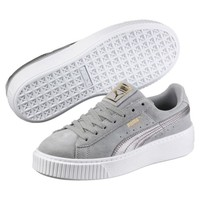 Suede Platform Metallic Safari Women's Sneakers, buy it @ www.puma.com