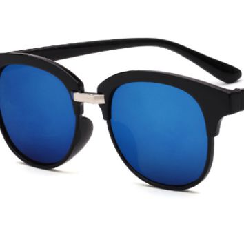 Retro Sunglasses for Women and Men. Semi-Rimless  FREE Shipping.