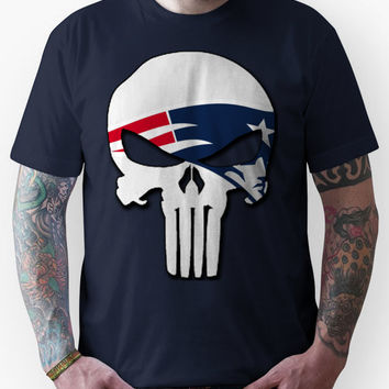 New England Patriots Punisher Logo Unisex T-Shirt