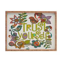 Valentina Ramos Trust Yourself Rectangular Tray