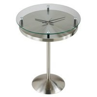 Time Table | Multifunctional end table that doubles as a clock and a table. Modern Contemporary Tables and more.