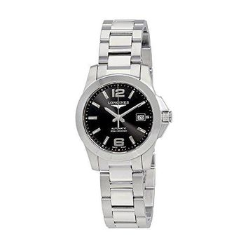 Longines L34010876 Conquest Ladies Watch - Silver Dial