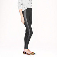 Pixie pant in leather tuxedo stripe - knit pants - Women's pants - J.Crew