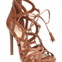 Jessica Simpson Racine Lace-Up Ghillie Sandals | Dillards