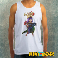 Clash of Clans Archer Queen Clothing Tank Top For Mens