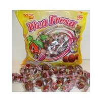 Mexican Pica Fresa Chili Strawberry Gummy Candy (100)