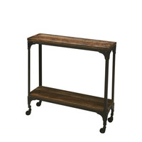 Gandolph Transitional Rectangular Console Table Multi-Color