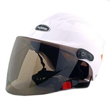 Motorcycle Motor Bike Scooter Safety Helmet 302   white