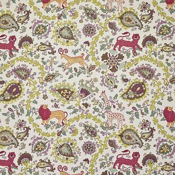 Kasmir Fabric Jinga Jungle Cherry Blossom