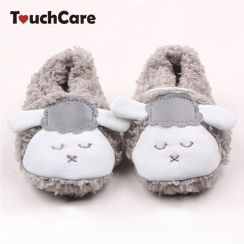 newborn-cotton-baby-boys-girls-first-walkers-cute-sheep-soft-baby-shoes-slipper-crib-s number 1