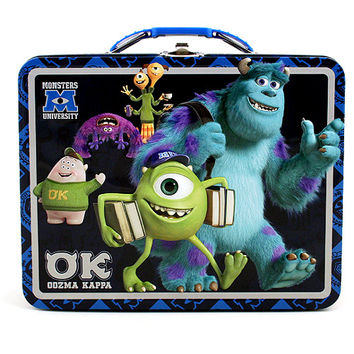 Monsters University Tin Lunch Box [OK - Oozma Kappa]