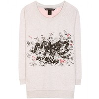 marc by marc jacobs - marc tag cotton sweater
