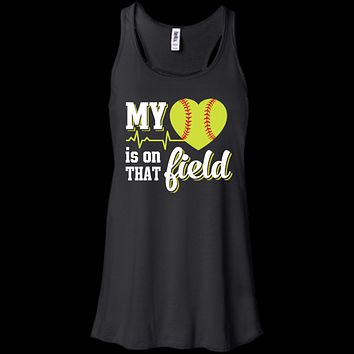 My Heart Is On That Field Softball