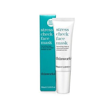 This Works Stress Check Face Mask - 8474672 | HSN