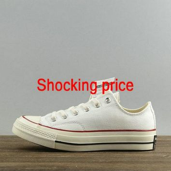 2018 Real Unisex Converse Chuck Taylor All Star Usable 70 White Red Black 149448 Authentic shoe