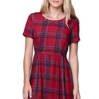 Volcom School Dress - Womens Dress - Red