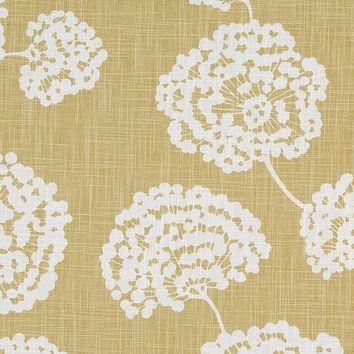 Robert Allen Fabric 240337 Toile Stems Soft Citron