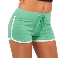 Women Hot Short Pants Shorts Workout Waistband Summer Fitness Shorts