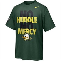 Nike Oregon Ducks No Huddle No Mercy T-Shirt - Green
