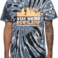 Casual Industrees OR Stay Weird Tie Dye T-Shirt