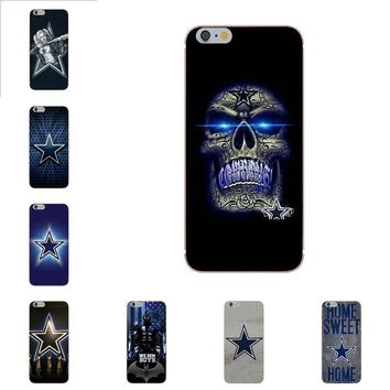 Omdnwd Soft Art Print Cover Case For Xiaomi Redmi 5 4A 3 3S Pro Mi4 Mi4i Mi5 Mi5S Mi Max Mix 2 Note 3 4 Plus Dallas Cowboys