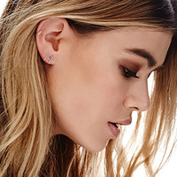 by boe M Letter Earring