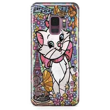 Marie Cat Disney S The Aristocats Stained Glass Samsung Galaxy S9 Case | Casefantasy