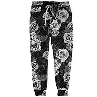BW Floral Joggers