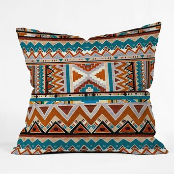 Kris Tate Cactus 1 Throw Pillow