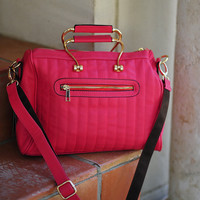 Lets Take First Class Purpse: Bright Pink | Hope's